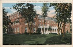 Nurses Home, Mountainside Hospital Postcard