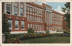 Montclair High School Postcard