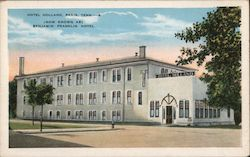 Hotel Holland, Now Known As Benjamin Franklin Hotel Postcard