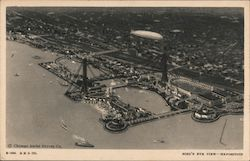 Bird's Eye View of the Exposition Postcard