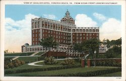 View of Cavalier Hotel Postcard