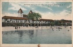 Bathing Pavilion at Oakland Beach