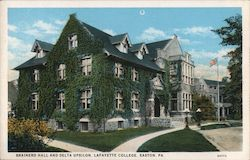 Brainerd Hall and Delta Upsilon, Lafayette College