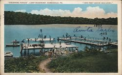 """Swimming Period,"" Camp Rosemont ""1800 Feet Above Sea Level"""