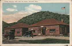 Totem Trading Post and Tea Room Postcard