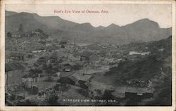 Bird's Eye View of Oatman, Ariz.