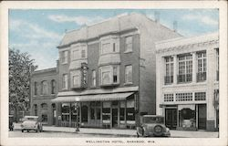 Wellington Hotel Postcard