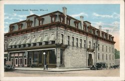 Warren Hotel Postcard
