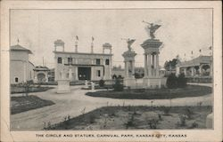 The Circle and Statues, Carnival Park