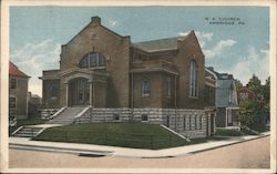 M. E. Church Postcard
