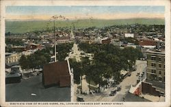 Bird's Eye View Looking Towards East Market Street
