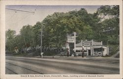 Hutch & Son, Bradley Brook, Landing Place of Hannah Dustin Postcard