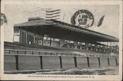 The Grandstand at Rockingham Race Track
