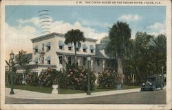The Cocoa House on the Indian River Postcard