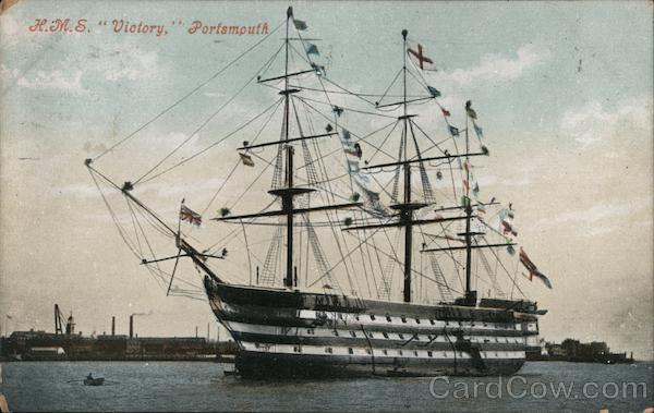 H.M.S. Victory Portsmouth England Hampshire