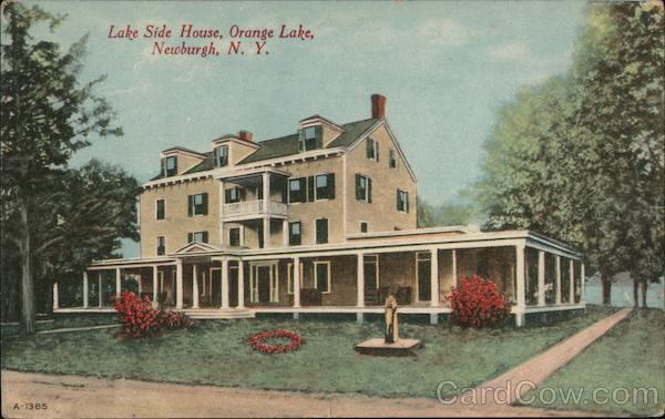 Lake Side House, Orange Lake Newburgh New York