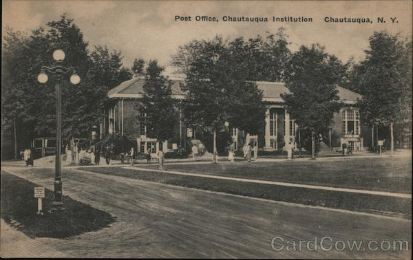 Post Office, Chautauqua Institution New York