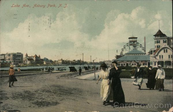 Lake Ave. Asbury Park New Jersey