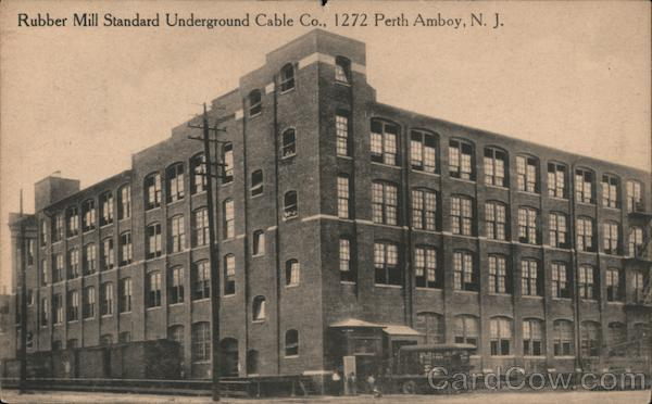 Rubber Mill Standard Underground Cable Co. Perth Amboy New Jersey