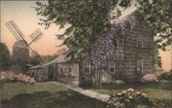 """Home, Sweet Home"" and the Old Wind Mill Postcard"