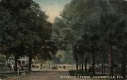 Riverside Avenue Postcard