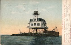 Long Beach light, Entrance to Greenport Harbor