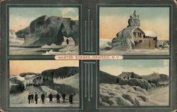 Winter Scenes Postcard