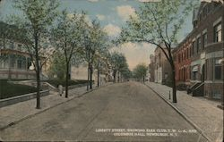 Liberty Street, Showing Elks Club Y.W.C.A. and Columbus Hall