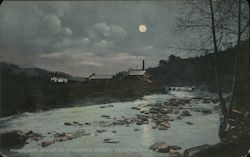 Moonlight Scene on Otsburg Creek