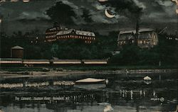 The Convent, Hudson River Postcard