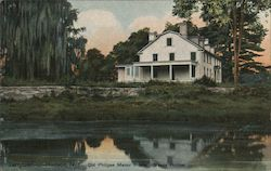 Old Philpse Manor House, Sleepy Hollow Postcard