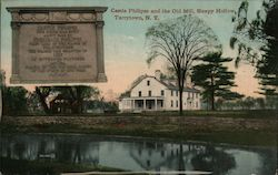 Castle Philipse and the Old Mill, Sleepy Hollow Postcard