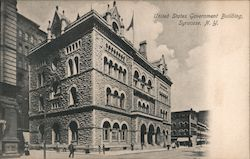 United States Government Building Syracuse, NY Postcard