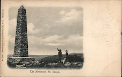 The Monument, Mt. Beacon Postcard