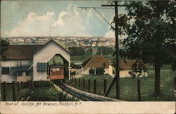 Foot of Incline, Mt. Beacon Postcard