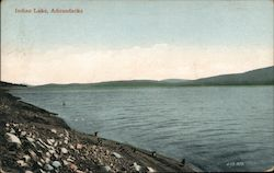 Indian Lake, Adirondacks Postcard