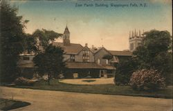 Zion Parish Building Postcard