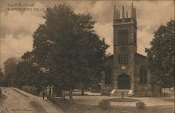 Zion P.E. Church Postcard