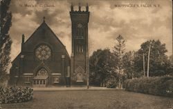 St. Mary's R.C. Church Postcard