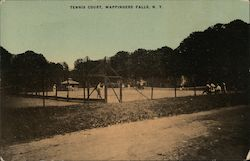 Tennis Court Postcard