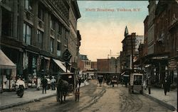 North Broadway Postcard