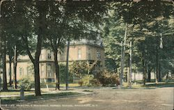 Principal's Residence, Normal School Postcard