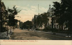West State Street, showing Capitol