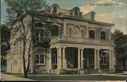 Elks Club Postcard