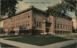 Ogden High School Postcard