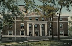 Sanborn Music Hall, Wesleyan University Postcard