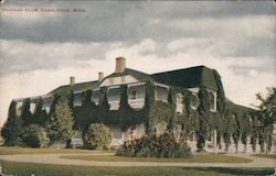 Chicago Club, Charlevoix, Mich. Postcard