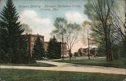 Women's Building - Michigan Agriculture College