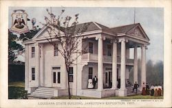Louisiana State Building Postcard