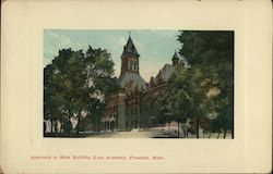 Approach to Main Building, Dean Academy Postcard